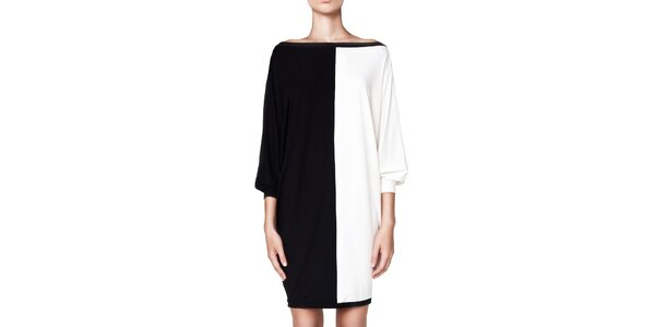 Dámské černo-bílé šaty Yuliya Babich