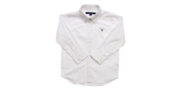 Dětská bílá košile Gant