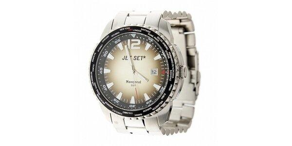 Pánské ocelové hodinky Jet Set
