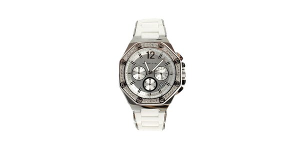 Dámské ocelové hodinky s krystaly Michael Kors