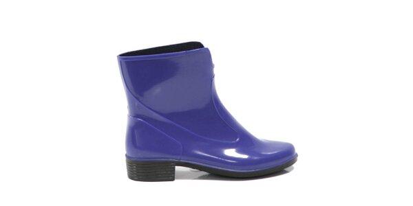 Dámské fialové kotníkové boty Favolla