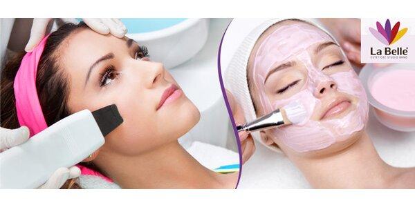 Ošetření pleti ultrazvukokou špachtlí (60 minut)
