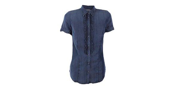 Dámská džínová košile s fiží Gas