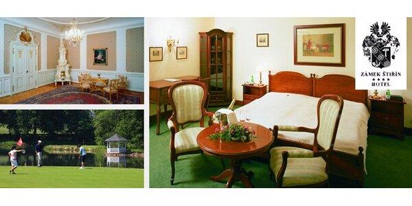 3990 Kč za ubytování na dvě noci pro dvě osoby v pohádkovém Zámku Štiřín.