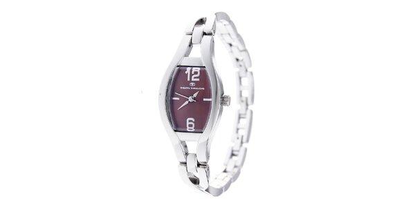 Dámské ocelové hodinky Tom Tailor s tmavě hnědým ciferníkem