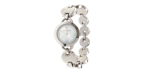 Dámské ocelové hodinky Tom Tailor s modrým ciferníkem