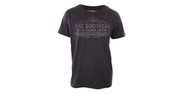 Pánské tmavě šedé tričko Goodyear