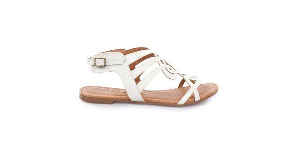 Dámské bílé sandálky Vizzano