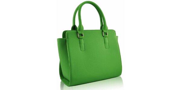 Dámská zářivě zelená kabelka Nubiz