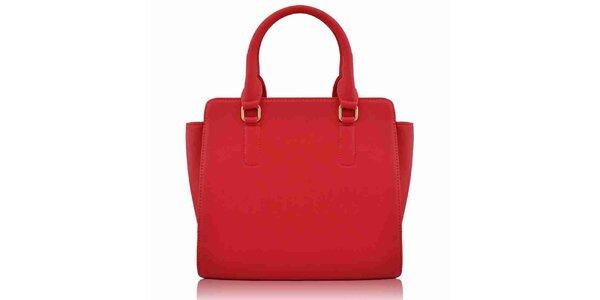 Dámská oranžovočervená kabelka Nubiz
