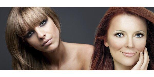 Barva a střih pro přitažlivější vlasy v centru Olomouce