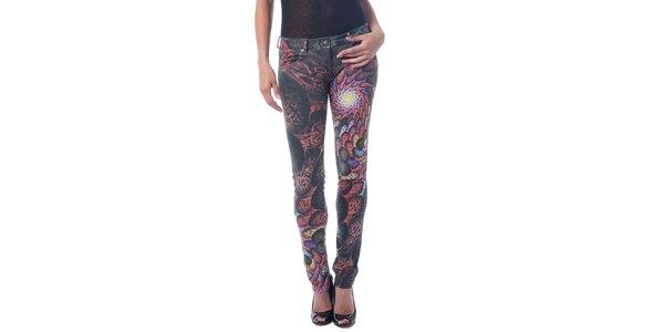 Dámské kalhoty s barevným potiskem Seven LA