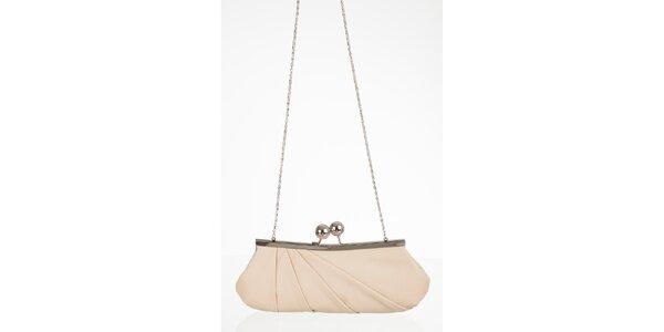Smetanová elegantní kabelka