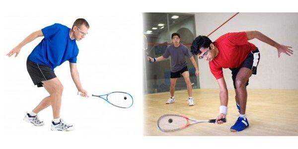 499 Kč za 2hodinový kurz squashe s profesionálem včetně pronájmu kurtu.