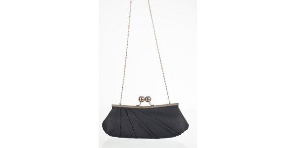 Antracitově šedá elegantní kabelka