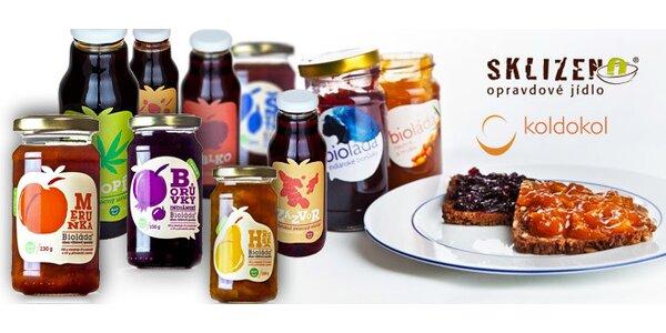 6 bio ovocných džemů či sirupů Koldokol