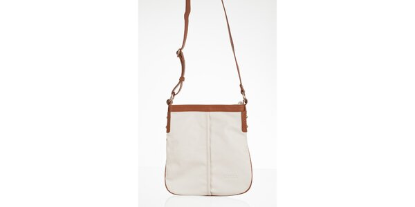 Bílá obdélníková kabelka