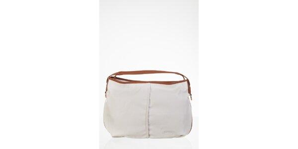 Jednoduchá bílá kabelka