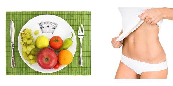 Měsíční návrh programu na redukci hmotnosti a detoxikaci organizmu