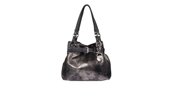 Dámská textilní kabelka v černé barvě Calvin Klein