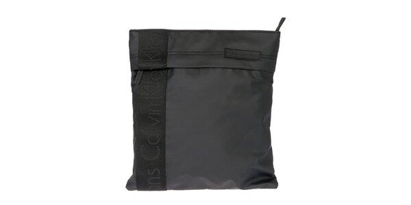 Pánská černá taška přes rameno s logem Calvin Klein Jeans