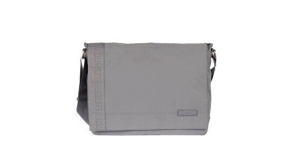 Pánská šedá taška přes rameno Calvin Klein Jeans