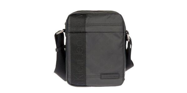 Pánská černá taška přes rameno s vnější zipovou kapsou Calvin Klein Jeans