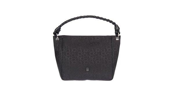 Dámská černá kabelka s jedním uchem Calvin Klein