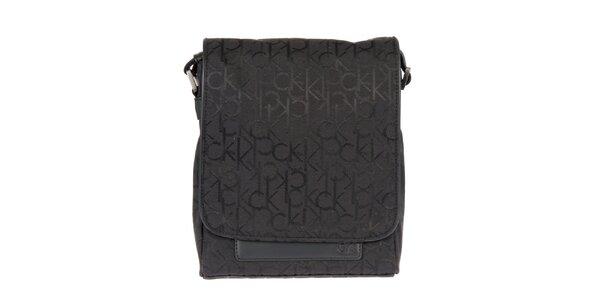 Pánská taška přes rameno s iniciálami Calvin Klein