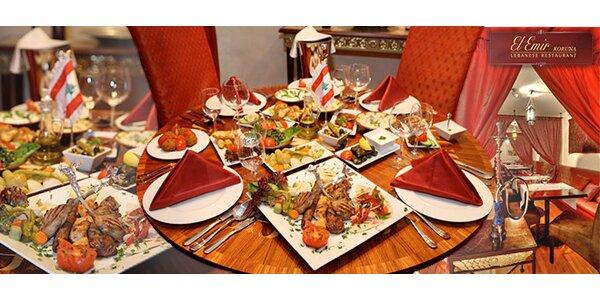Kupon na 40% slevu na vybraná menu restaurace El Emir