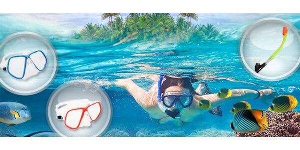 Potápěčské brýle a šnorchly Salvas
