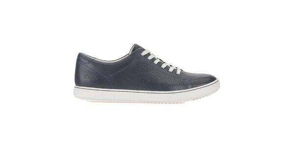 Pánské tmavě modré šněrovací boty Clarks