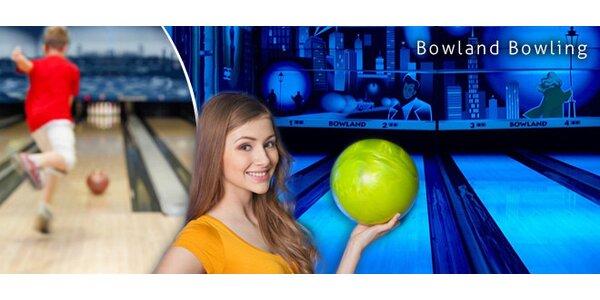 Hodina bowlingu až pro 10 hračů