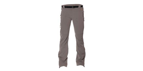 Pánské softshell elastické kalhoty Envy v šedé barvě