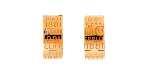 Dámské kruhové náušnice Cerruti 1881