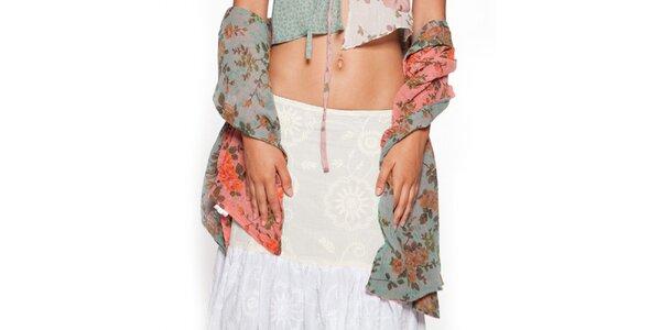 Dámský barevný květovaný šál Ian Mosh
