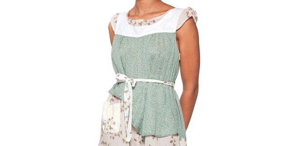 Dámské světle zelené šaty Ian Mosh