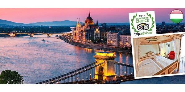 3 až 4 dny v centru Budapešti včetně snídaní