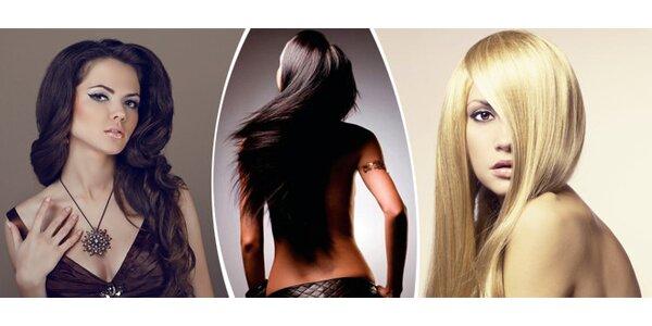 Dámský střih vlasů, sleva na barvení nebo melírování