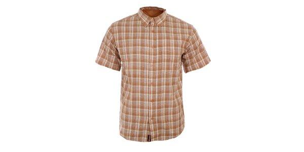 Pánská oranžově kostkovaná košile Northland Professional