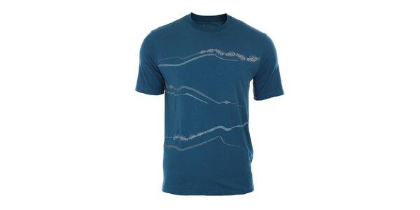 Pánské modré tričko z bambusu a organické bavlny Northland Professional