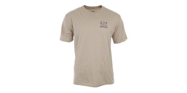 Pánské béžové tričko z organické bavlny Northland Professional