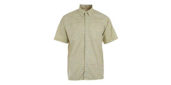 Pánská limetkově kostkovaná košile s UV faktorem Northland Professional