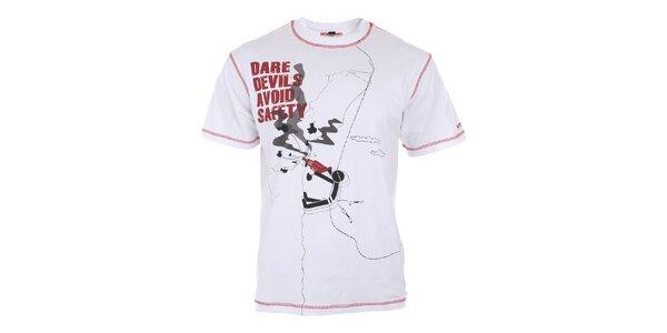 Pánské bílé tričko s potiskem Northland Professional