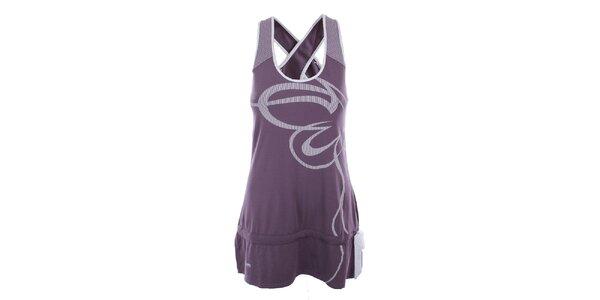 Dámské fialovo-bílé šaty Northland Professional