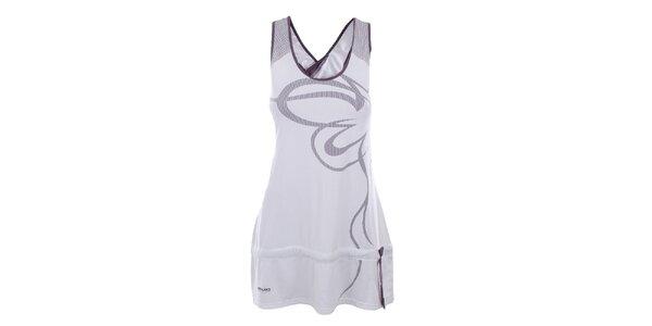 Dámské bílo-fialové šaty Northland Professional