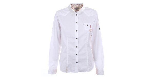 Dámská bílá košile s vyhrnovacími rukávy Northland Professional