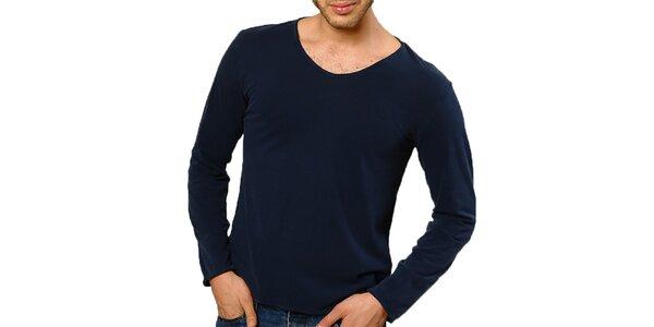 Pánské tmavě modré tričko s dlouhým rukávem Northern rebel