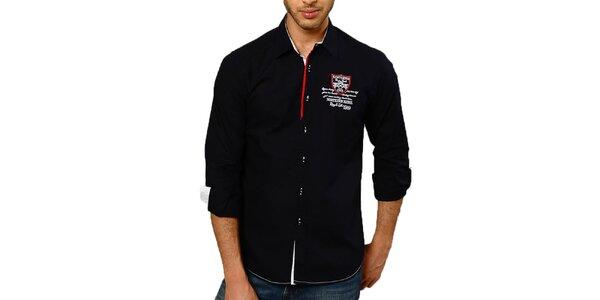 Pánská tmavě modrá košile Northern rebel