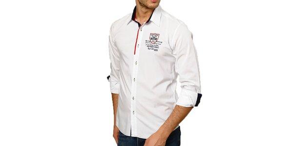 Pánská bílá košile Northern rebel